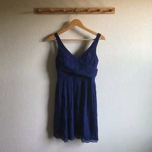 J. Crew Chiffon Dress